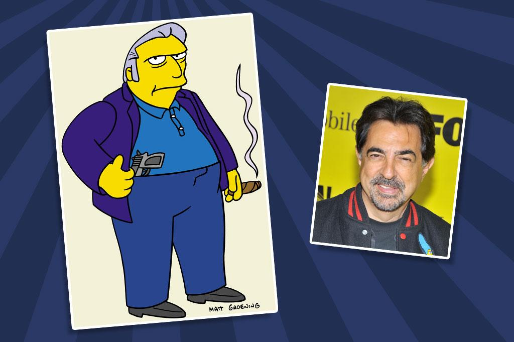"""Criminal Minds"" star Joe Mantegna regularly provides the voice of Springfield's biggest criminal mastermind, Fat Tony. In fact, Mantegna so enjoys the role that he once came in for the recording of a script that merely required a couple of grunts from his Mafioso character."