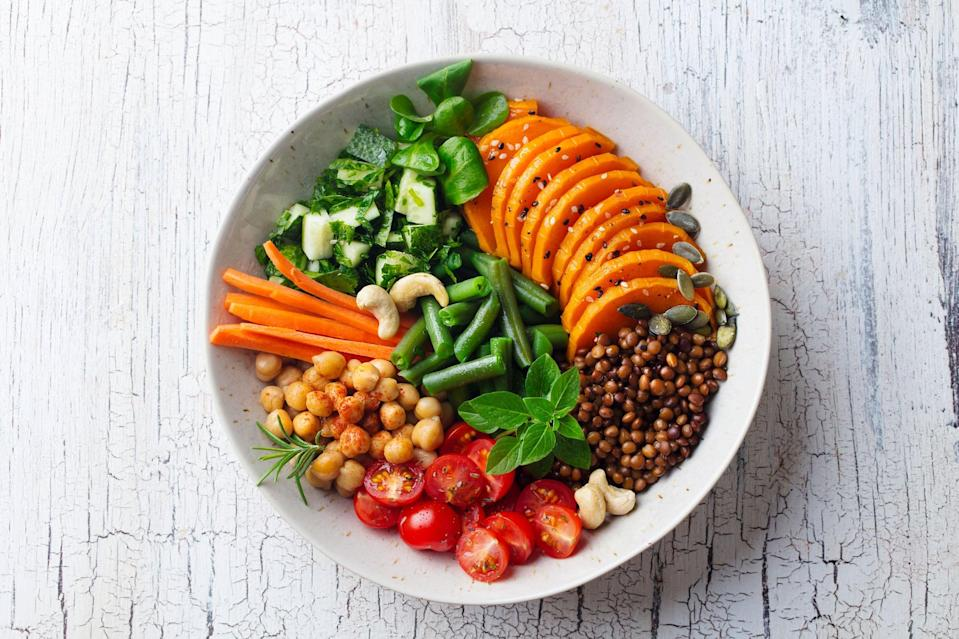 """<p>Engman said she absolutely recommends this diet to clients, and said, """"The great thing about the Starch Solution is that it can fit anyones needs."""" When you eat a diet of whole foods that are low in fat and high in fiber, you'll feel so satisfied, and it's easy to eat intuitively. She added, """"You can get everything you need from a high-carb, whole-food, plant-based diet. The only two things I would add is make sure to take a B12 supplement as well as vitamin D3.""""</p> <p>""""When changing your diet always consult with your doctor and dietitian,"""" reminded Saint-Laurent Beaucejour. She added that food is a huge part of our social life and should bring happiness, not anxiety. Ultimately, your diet needs to promote health and joy, and any balanced diet that incorporates a wide variety of nutrients and allows you to eat the foods that makes you feel good can be sustainable long-term. It's worth trying this way of eating to see if you like it.</p>"""