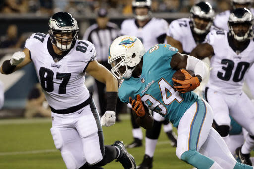 The Dolphins suspended Lawrence Timmons indefinitely. (AP)