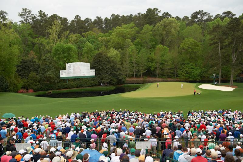For Masters weekend TV, CBS chooses Tiger Woods' 2019 victory and Phil Mickelson's 2004 triumph to fill the viewing void
