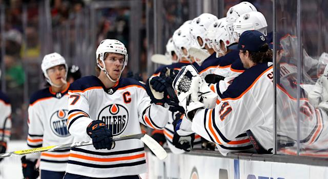 Connor McDavid. He's good. (Photo by Sean M. Haffey/Getty Images)