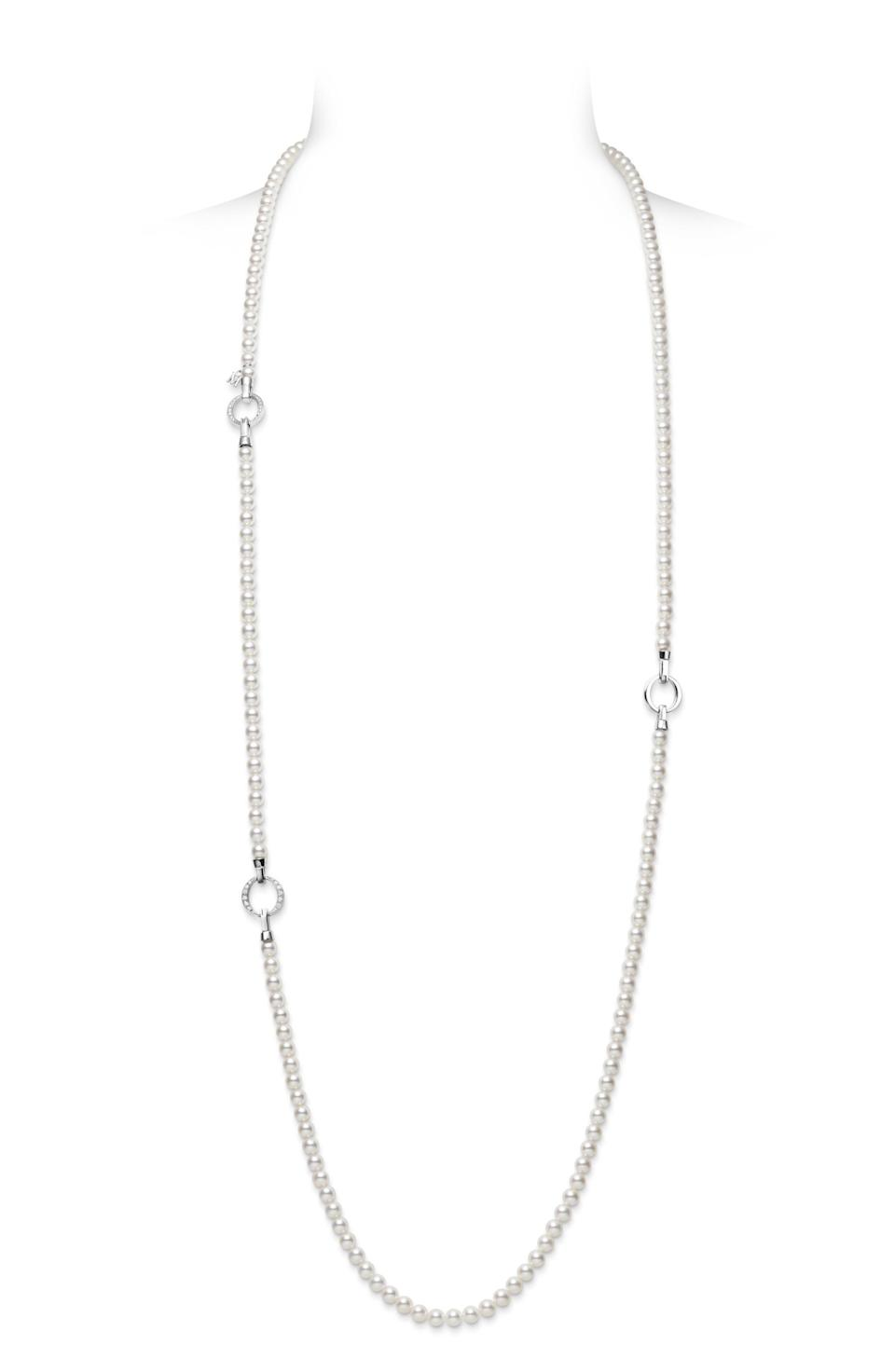"""<p><strong>MIKIMOTO</strong></p><p>nordstrom.com</p><p><strong>$9600.00</strong></p><p><a href=""""https://go.redirectingat.com?id=74968X1596630&url=https%3A%2F%2Fshop.nordstrom.com%2Fs%2Fmikimoto-cultured-pearl-diamond-station-necklace%2F5423172&sref=https%3A%2F%2Fwww.townandcountrymag.com%2Fstyle%2Fjewelry-and-watches%2Fg37368162%2Ffine-jewelry-brands-at-nordstrom%2F"""" rel=""""nofollow noopener"""" target=""""_blank"""" data-ylk=""""slk:Shop Now"""" class=""""link rapid-noclick-resp"""">Shop Now</a></p><p>Above all, Mikimoto is known for pearls—and has been known for them for well over 120 years now.</p>"""