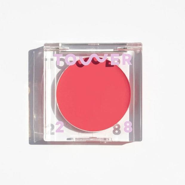 """<p>Tower 28 BeachPlease Lip + Cheek Cream Blush, $20, <a href=""""https://shop-links.co/1737572233530728150"""" rel=""""nofollow noopener"""" target=""""_blank"""" data-ylk=""""slk:available here"""" class=""""link rapid-noclick-resp"""">available here</a>.</p>"""