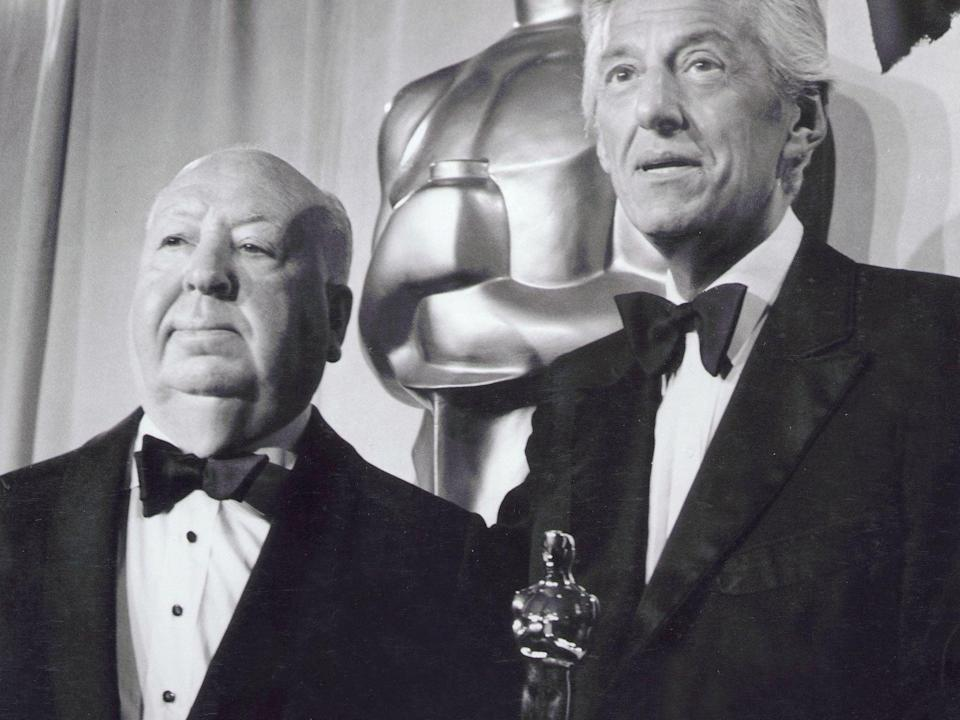 Hitchcock was feted with four Oscar nods in his lifetime but only took home oneKobal/Shutterstock