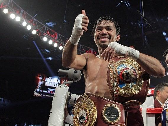 Manny Pacquiao: Getty