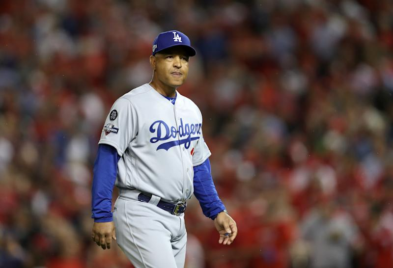 Dave Roberts is reportedly returning for a fifth season with the Dodgers. (Getty)