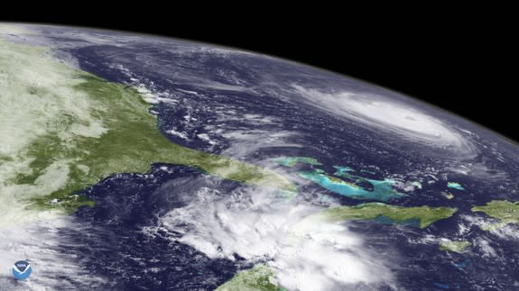 NASA releases footage showing massive Hurricane Florence from space