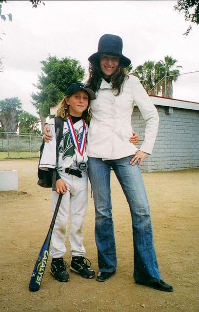 PHOTO: Annabelle and Ezra on the baseball field when they were younger. (Annabelle Gurwitch)