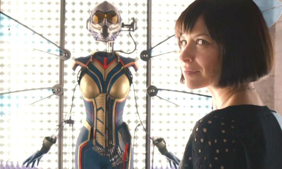 <p><span><strong>Played by:</strong> Evangeline Lily</span><br><span><strong>Last appearance:</strong> <em>Ant-Man</em></span><br><span><strong>What's she up to?</strong> At the end of <em>Ant-Man</em>, Hope's dad Howard Pym gives her the Wasp suit he had made for her so that she could follow in her mother's footsteps. The first trailer for <em>Ant-Man and the Wasp </em>suggests the <em>Ant-Man</em> sequel, which arrives *after* <em>Infinity War, </em>will be set between the events of <em>Civil War</em> and <em>Infinity War</em>.</span> </p>