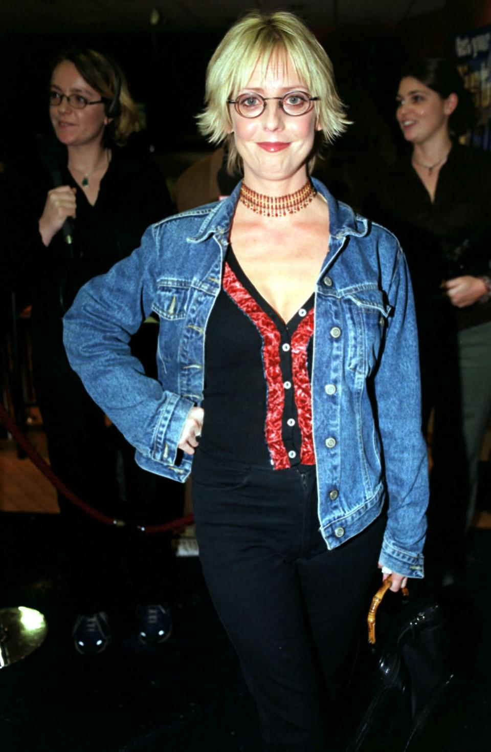 Part of the gag was that Alice, played by the late Emma Chambers,  rarely understood the jokePA