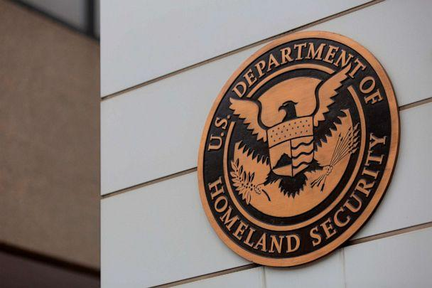 PHOTO: The US Department of Homeland Security building is seen in Washington, July 22, 2019.  (Alastair Pike/AFP via Getty Images, FILE)