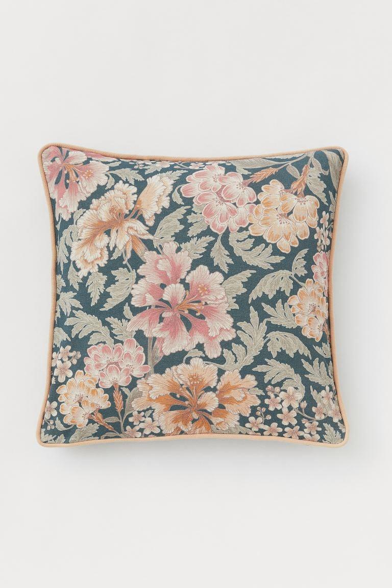 <p>This <span>H&amp;M Patterned Cushion Cover</span> ($13) will brighten up any sofa.</p>