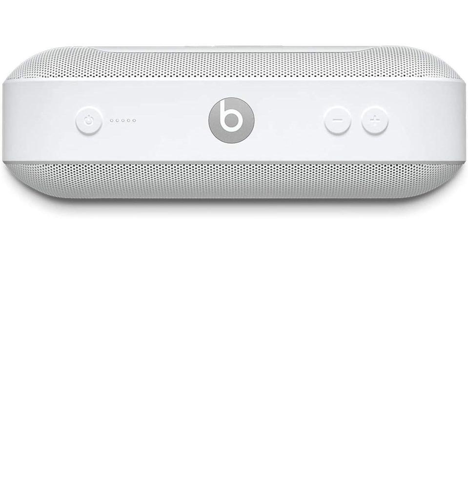 """<p><strong>Beats by Dre</strong></p><p>amazon.com</p><p><strong>$149.95</strong></p><p><a href=""""https://www.amazon.com/dp/B016QXV4N6?tag=syn-yahoo-20&ascsubtag=%5Bartid%7C10054.g.19735637%5Bsrc%7Cyahoo-us"""" rel=""""nofollow noopener"""" target=""""_blank"""" data-ylk=""""slk:Buy"""" class=""""link rapid-noclick-resp"""">Buy</a></p><p>For the dad whose ability to curate the perfect playlist makes him the life of the party, every time.</p>"""