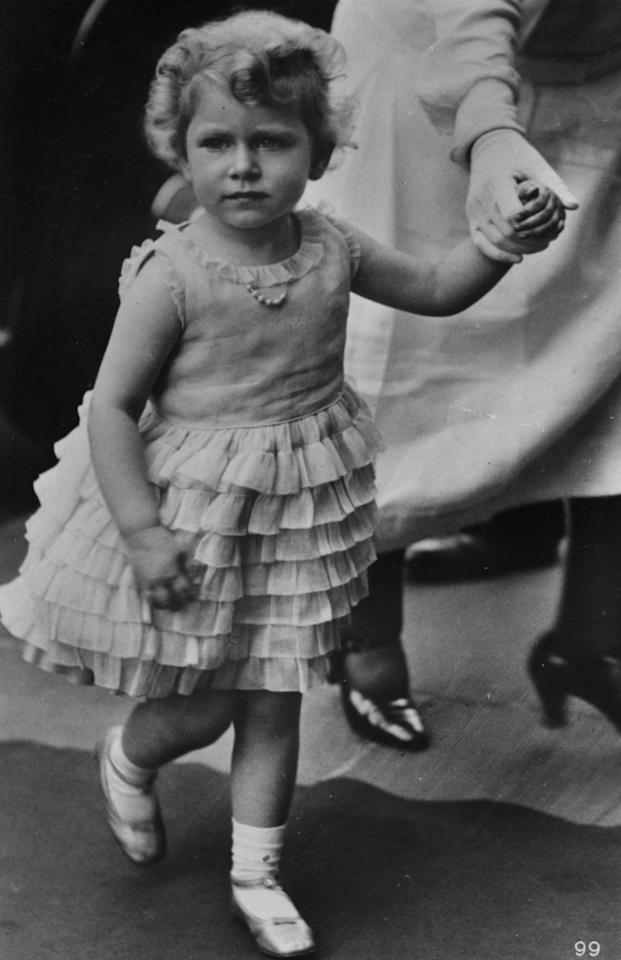 <p>Even as a toddler, little Queen Elizabeth II  (then simply the Princess) was a total style icon. Check out this adorable ruffled party dress she wore at just three years old.</p>