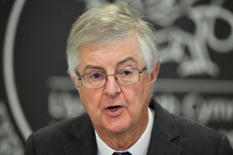 Welsh First Minister Mark Drakeford complained about a lack of communication with the Prime Minister. (Ben Birchall/PA)