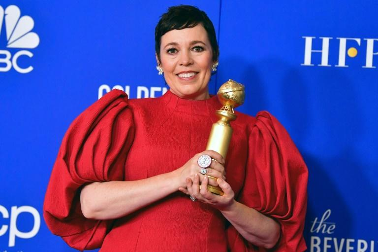 "British actress Olivia Colman won a Golden Globe in 2020 for her work on ""The Crown"" -- will she be a repeat winner this year for the same role, or her film work on ""The Father""?"