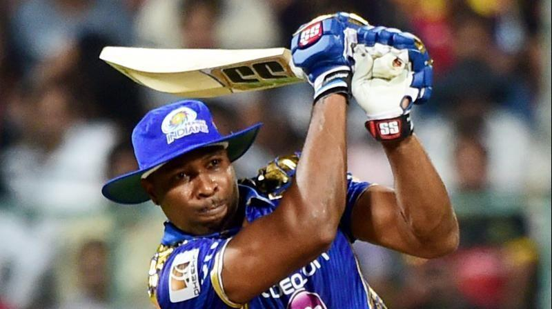 Kieron Pollard is the leading run scorer for Mumbai Indians in IPL finals