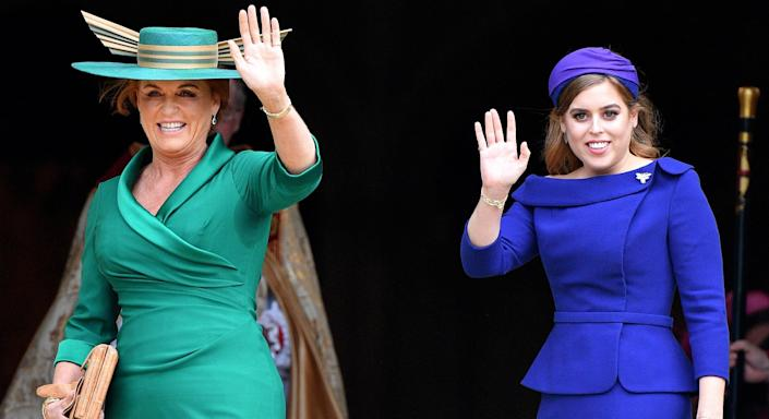 The Duchess of York's eldest daughter Beatrice turned 32 yesterday. (Getty Images)