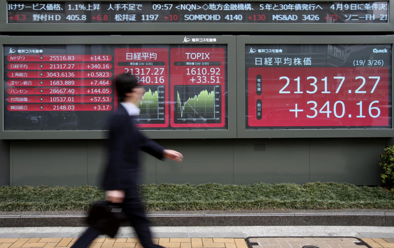Global stocks rebound after slide on growth worries