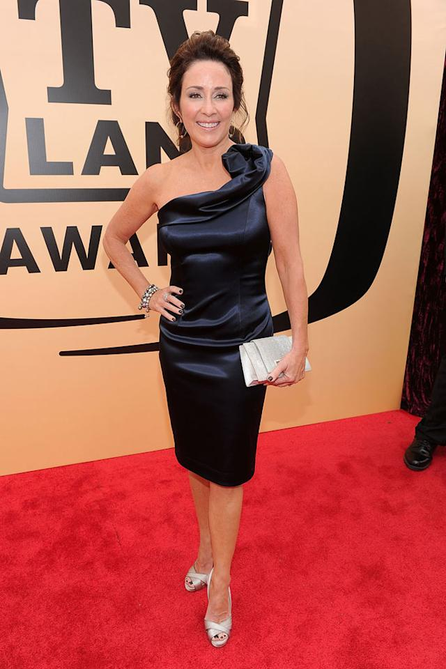"Patricia Heaton (""Everybody Loves Raymond"" arrives at the <a href=""/the-8th-annual-tv-land-awards/show/46258"">8th Annual TV Land Awards</a> held at Sony Studios on April 17, 2010 in Culver City, California. The show is set to air Sunday, 4/25 at 9pm on TV Land."
