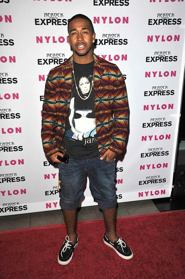 """R&B singer Omarion looked like he was headed for a beach party instead of a fancy red carpet shindig in his boat shoes and cuffed jean shorts. John Shearer/<a href=""""http://www.wireimage.com"""" target=""""new"""">WireImage.com</a> -August 10, 2010"""