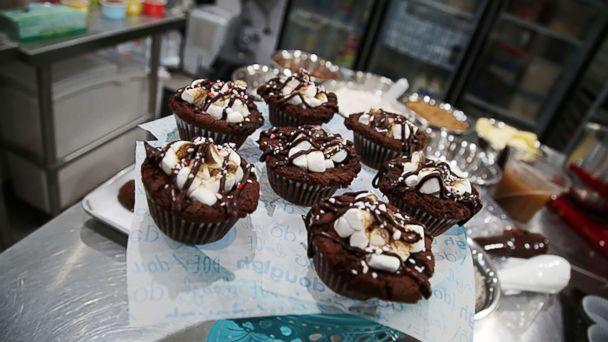 PHOTO: Kristen Tomlan, the founder of Do, a New York City bakery, shared her recipe for peppermint hot cocoa cookie dough bombs with 'GMA.' (ABC News)