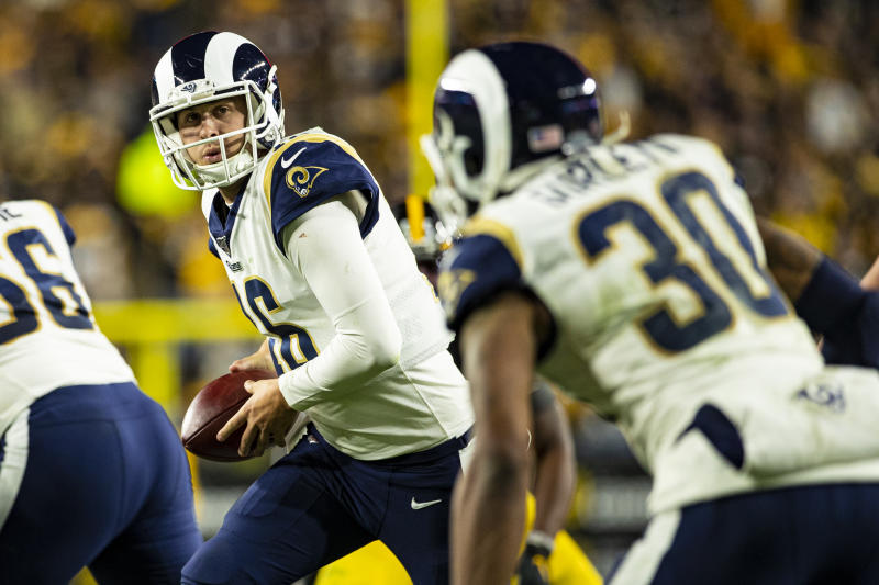 The duo of Jared Goff and Todd Gurley isn't what it used to be. (Mark Alberti/Icon Sportswire via Getty Images)