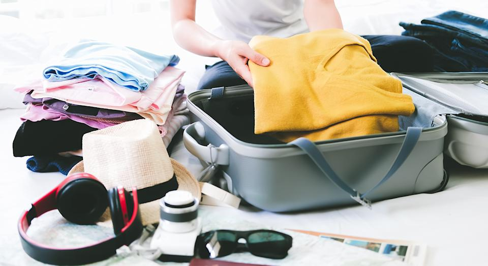 Away has launched its first ever sale with up to 50% off suitcases and other luggage items. (Getty Images)