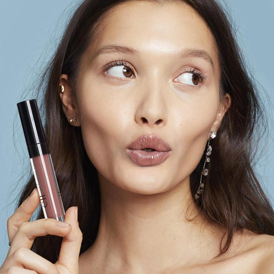 <p>Aside from being super affordable, the <span>e.l.f. Lip Plumping Gloss</span> ($6) is both pigmented and plumping. In other words, sign us up!</p>