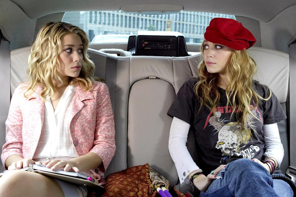 "<p>Come for Mary-Kate and Ashley Olsen in 2004's best fashion <em>lewks.</em> Stay for the surprisingly engaging story of teen sisters navigating a series of adventures around New York City and hiding from their school's truant officer (played by <em>Schitt's Creek</em> patriarch Eugene Levy). It's as light as you can get. </p> <p><a href=""https://www.netflix.com/title/60034568"" rel=""nofollow noopener"" target=""_blank"" data-ylk=""slk:Available to stream on Netflix."" class=""link rapid-noclick-resp""><em>Available to stream on Netflix.</em></a></p>"