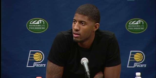 Paul George optimistic about recovery from gruesome leg injury