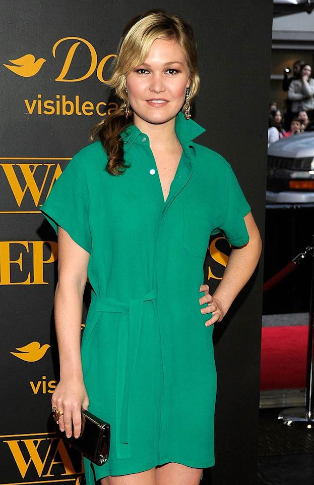 """Julia Stiles has been in the spotlight for more than a decade with roles in films including """"Save the Last Dance"""" and """"Mona Lisa Smile,"""" but the actress, who marked her 30th birthday on March 28, got her first Golden Globe nomination just this year for her guest role on the dark Showtime series """"Dexter."""" Kevin Mazur/<a href=""""http://www.wireimage.com"""" target=""""new"""">WireImage.com</a> - April 17, 2011"""