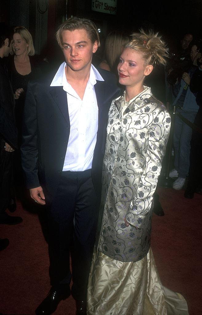 "Leonardo DiCaprio and Claire Danes co-starred in ""Romeo + Juliet"" in 1996. (Photo: Barry King/WireImage)"