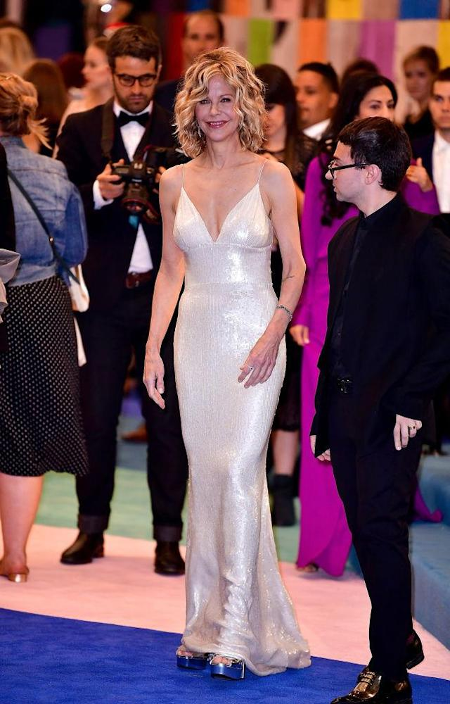 Meg Ryan in Christian Siriano (Photo: Getty Images)