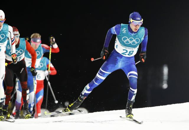 Nordic Combined Events - Pyeongchang 2018 Winter Olympics - Men's Individual 10 km Final - Alpensia Cross-Country Skiing Centre - Pyeongchang, South Korea - February 20, 2018 - Ilkka Herola of Finland in action. REUTERS/Dominic Ebenbichler