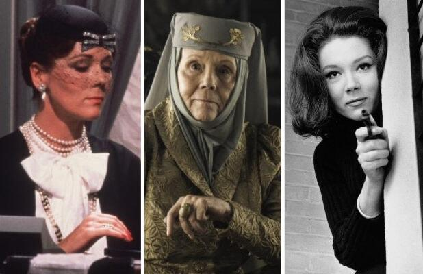 Diana Rigg's 12 Most Memorable Roles, From 'The Avengers' to 'Game of Thrones'