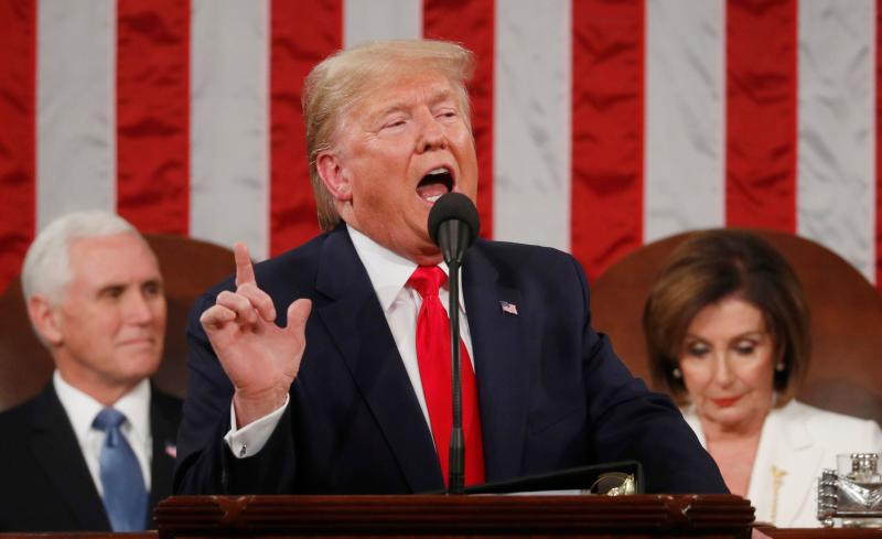 5 Whoppers From Trump's State of the Union Address