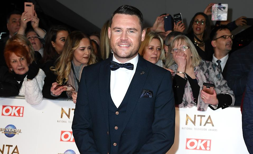 LONDON, ENGLAND - JANUARY 28: Danny Miller attends the National Television Awards 2020 at The O2 Arena on January 28, 2020 in London, England. (Photo by Gareth Cattermole/Getty Images)