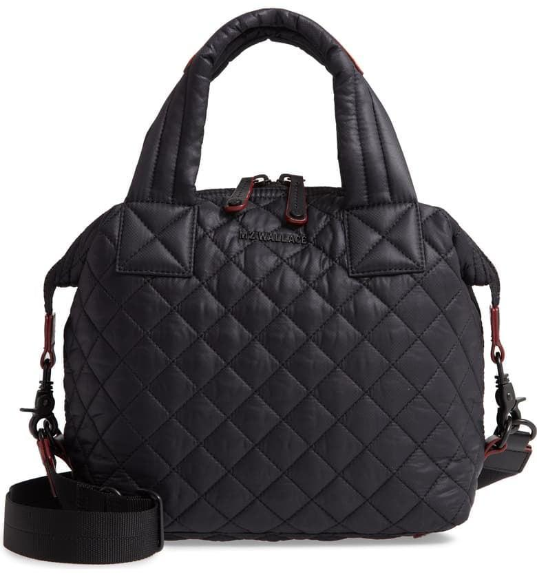 <p>The crossbody strap on this <span>MZ Wallace Small Sutton Bag</span> ($225) makes it so useful.</p>