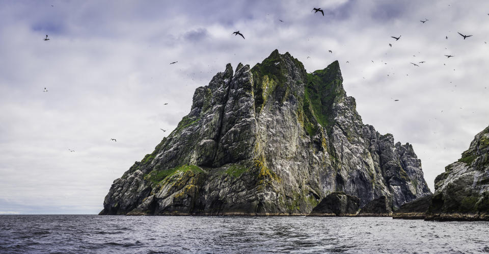 St. Kilda lies beyond the Outer Hebrides in the North Atlantic Ocean (Getty Images)