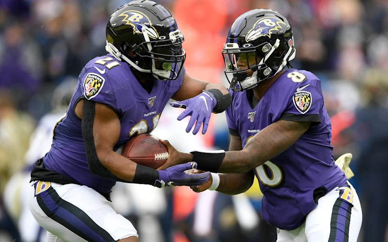 The Baltimore Ravens were once again in flying form over the weekend - Copyright 2019 The Associated Press. All rights reserved.