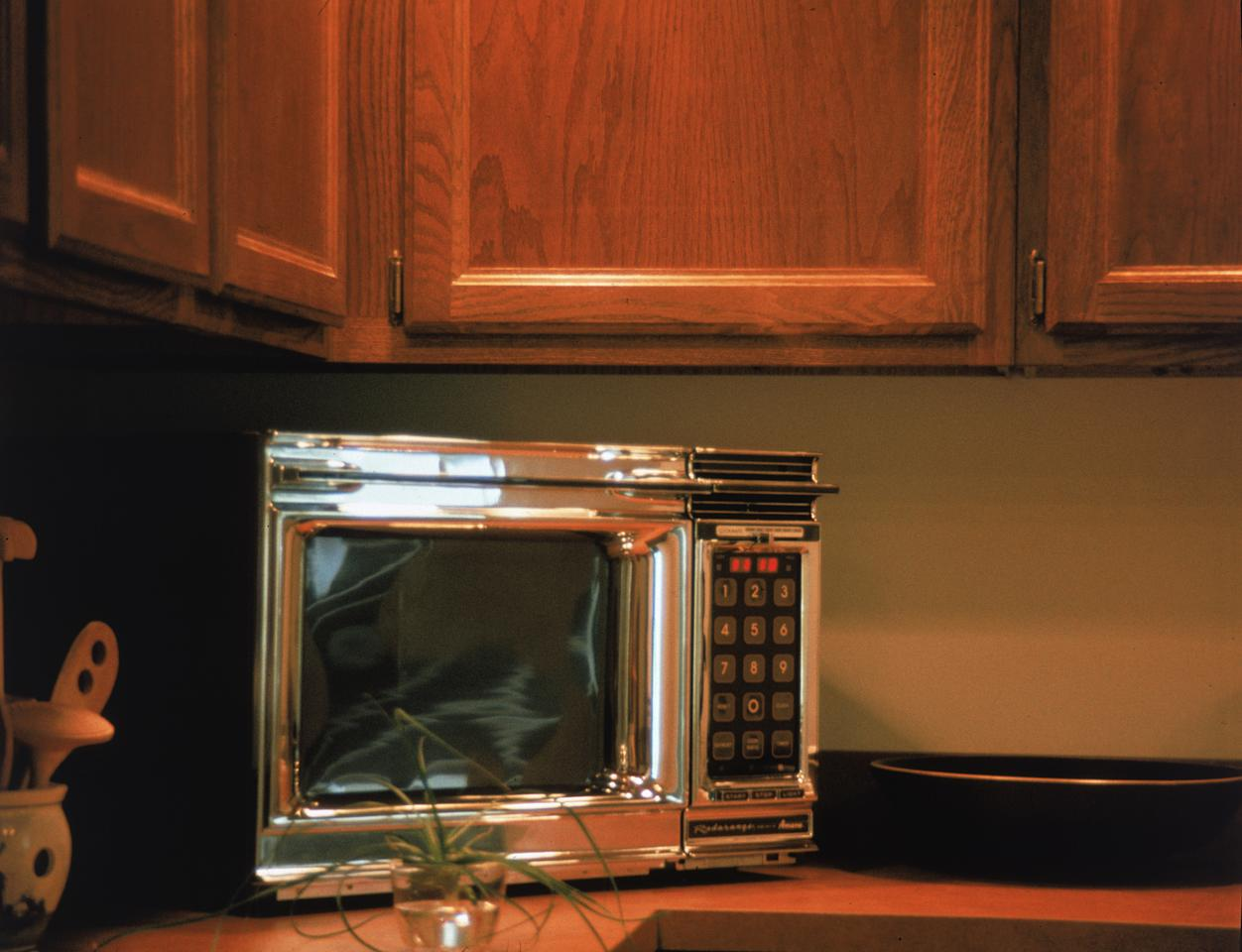 <p>The microwave was created by Percy Spencer using radar technology from WWII in 1946 and became hugely popular in the 1980s when the microwave sparked a convenience – the ready meal revolution. (Rex) </p>