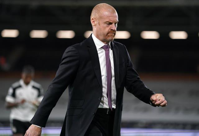 Sean Dyche has ensured Burnley will play in the Premier League for a sixth consecutive season