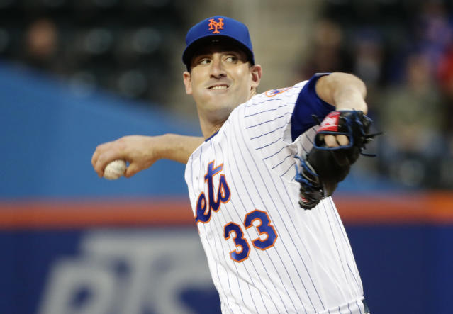Matt Harvey has gotten off to a rough start in 2018. (AP Photo/Frank Franklin II)