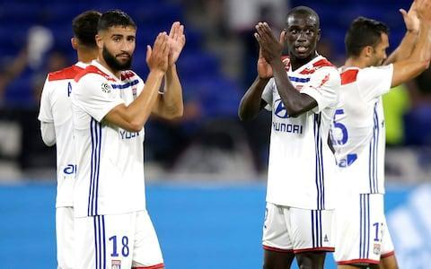 <span>Nabil Fekir (left) was linked with a move to England this summer</span>
