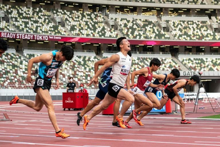 Athletes skipped quarantine but were tested daily and faced strict limits on movement