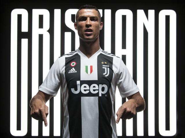 In the money: Ronaldo earns a staggering amount for one instagram post