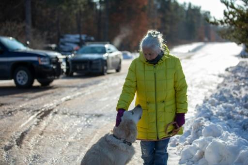 Jeanne Nutter was walking her dog near the cabin she owns with her husband when she encountered missing teenager Jayme Closs