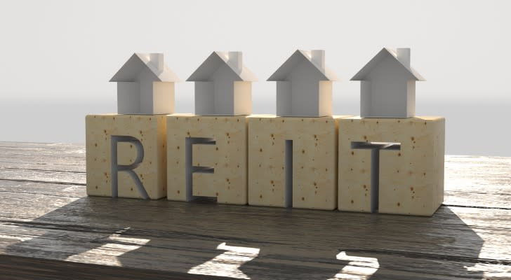 """""""REIT"""" spelled out in block letters"""