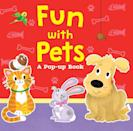 <p>Join Little Bunny as she tries to find her animal friends in a game of hide-and-seek in <span><strong>Fun With Pets: A Pop-Up Book</strong></span> ($9).</p>